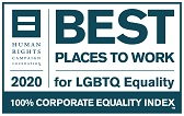 Human Rights Campaign Best Places to Work 2020