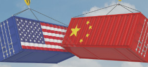 United States and China cargo containers