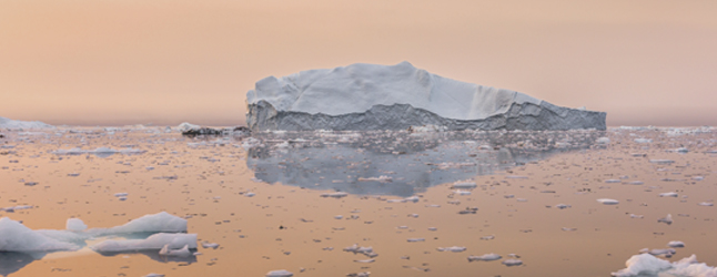 Photo of iceberg